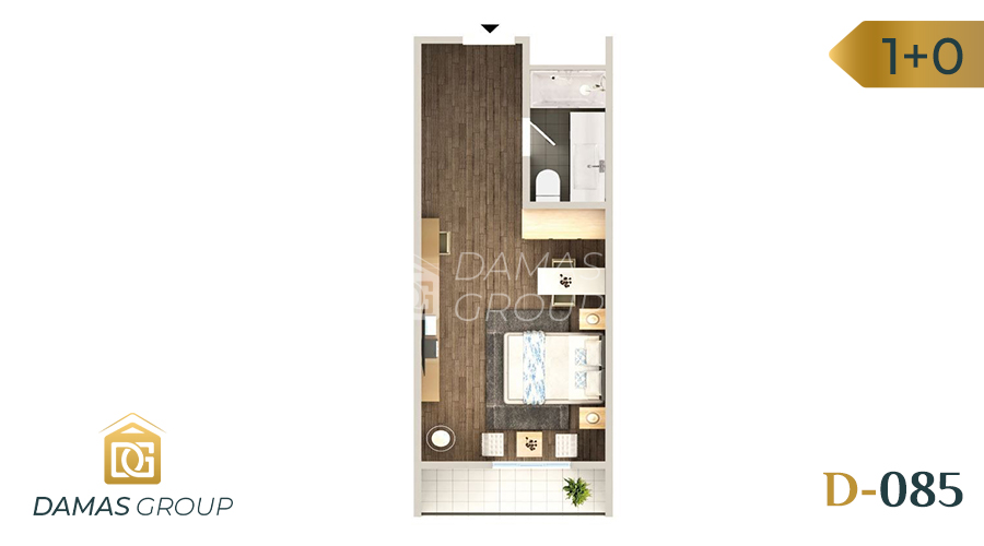 Damas Project D-085 in Istanbul - floor plan 01