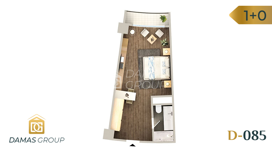 Damas Project D-085 in Istanbul - floor plan 02