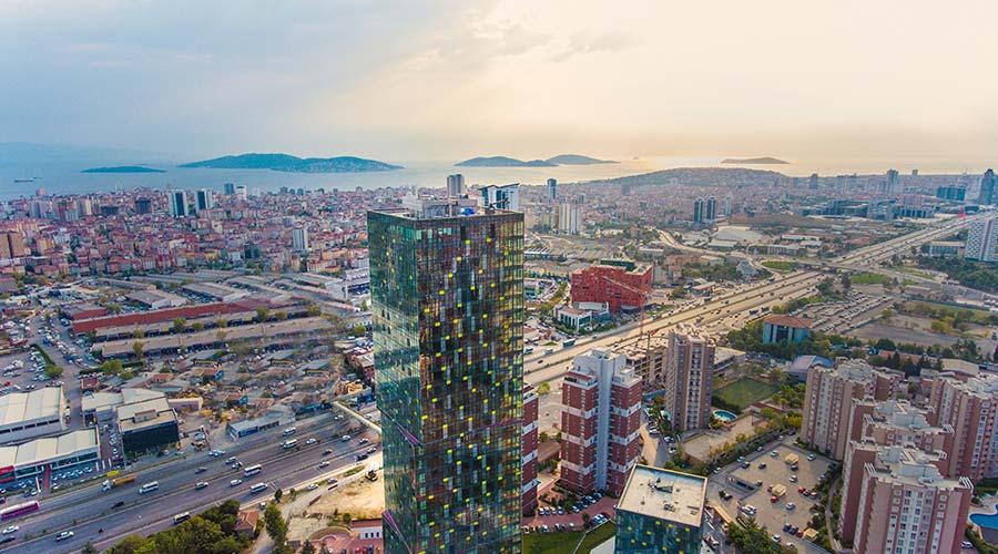 مجمع داماس 280 في اسطنبول  - صورة خارجية  01