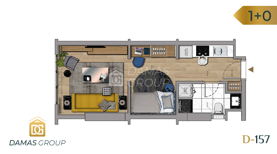 Damas Project D-157 in Istanbul - Floor Plan 01
