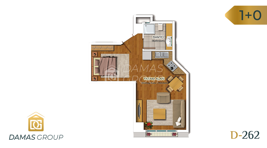 Damas Project D-262 in Istanbul - Floor Plan 01