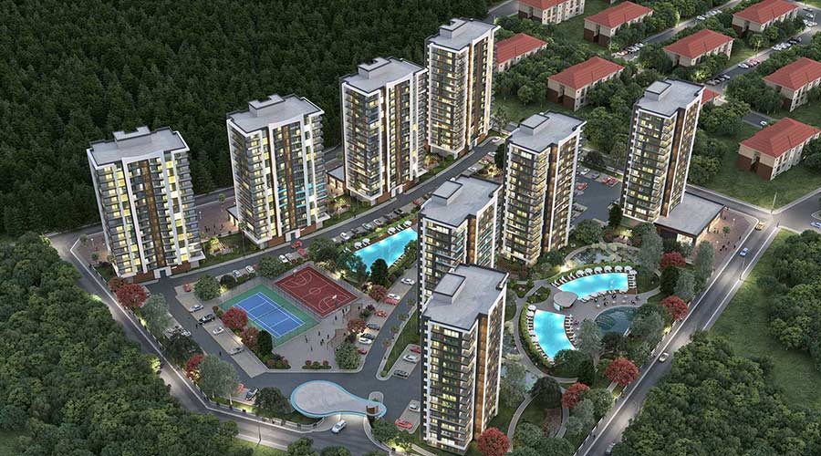 Damas Project D-613 in Antalya - Exterior picture 01