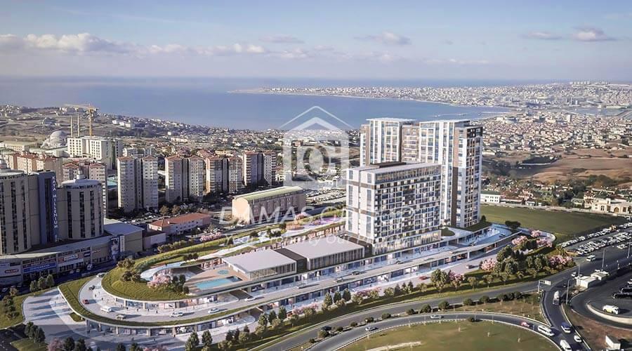 مجمع داماس 200 في اسطنبول  - صورة خارجية  01