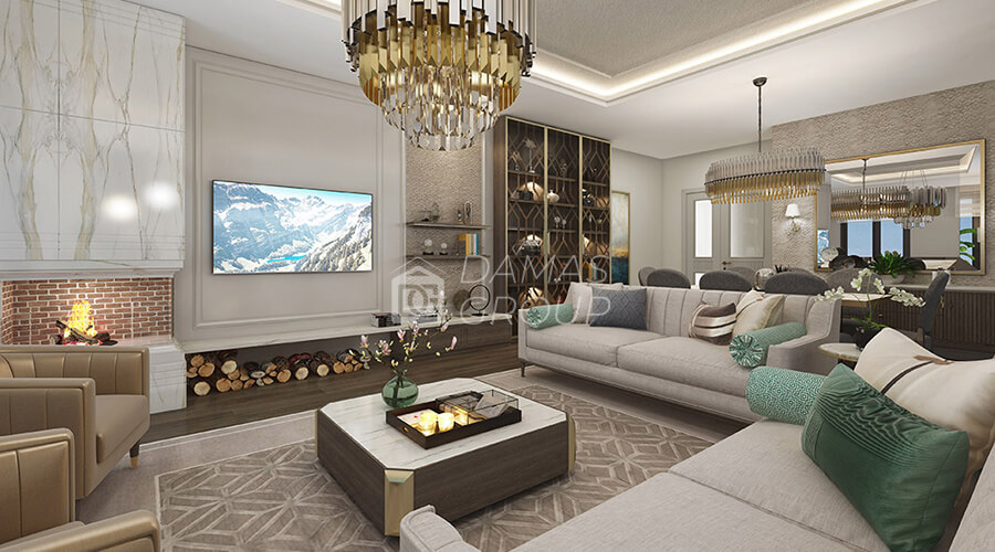 Damas Project D-057 in Istanbul - INterior picture  01