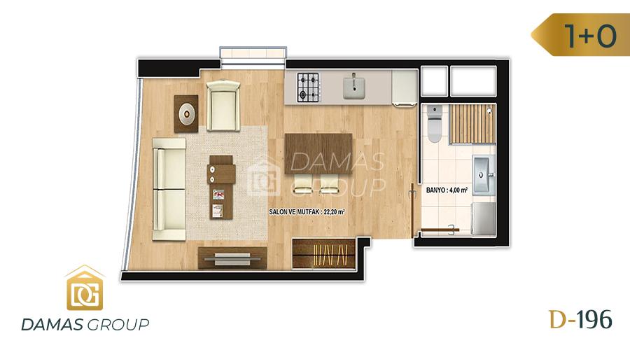 Damas Project D-196 in Istanbul - Floor Plan 01