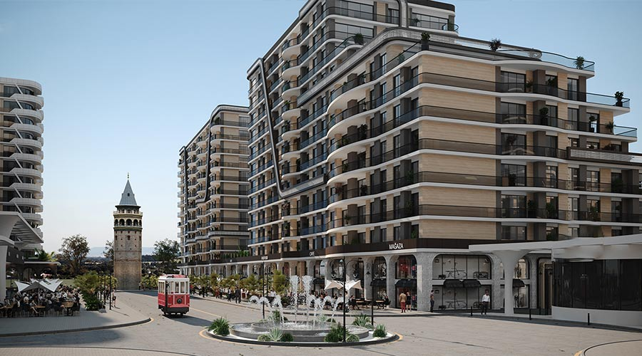 Damas Project D-128 in Istanbul - Exterior picture 01