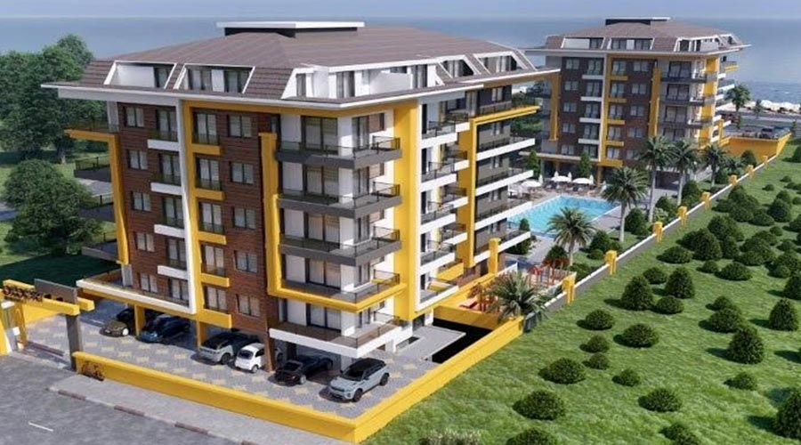 Damas Project D-612 in Antalya - Exterior picture 01