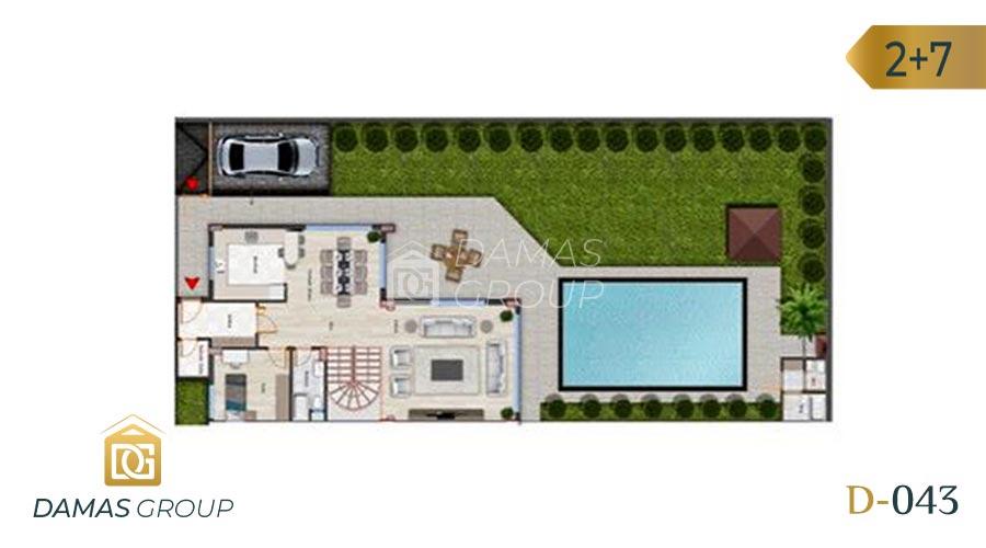 Damas Project D-043 in Istanbul - floor plan 01