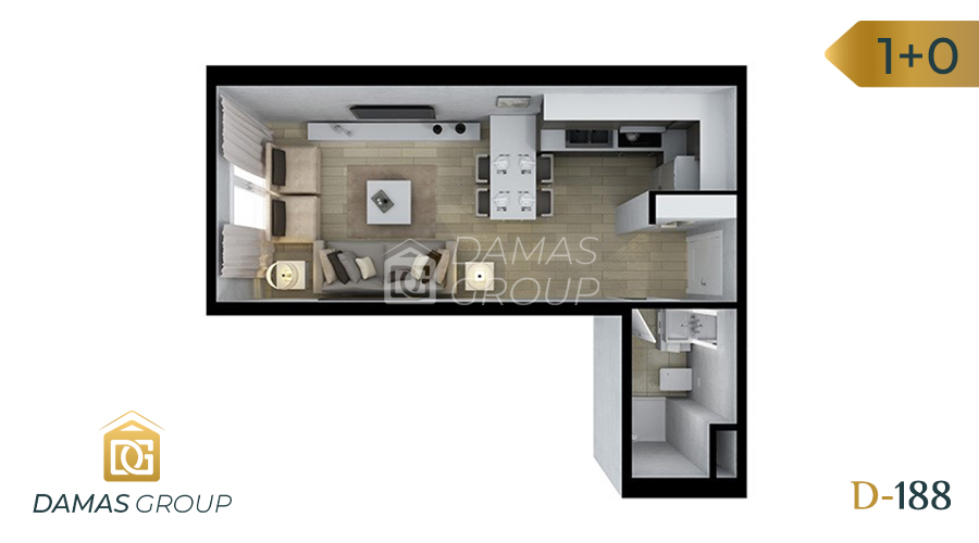 Damas Project D-188 in Istanbul - Floor Plan 01