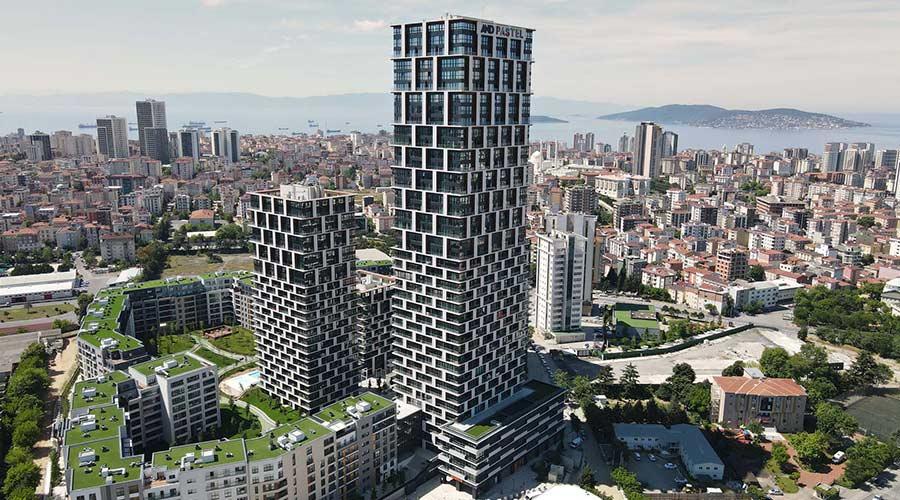 مجمع داماس 286 في اسطنبول  - صورة خارجية  01