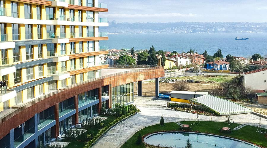 مجمع داماس 285 في اسطنبول  - صورة خارجية  01