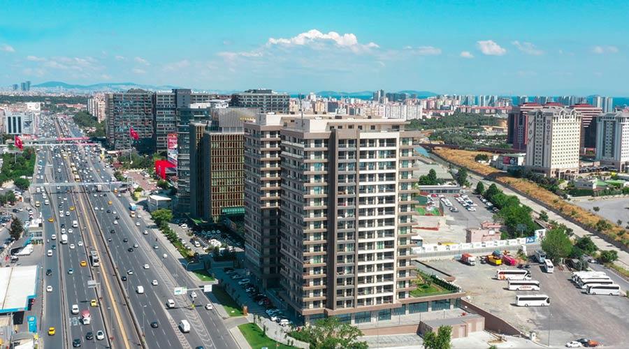 مجمع داماس 284 في اسطنبول  - صورة خارجية  01