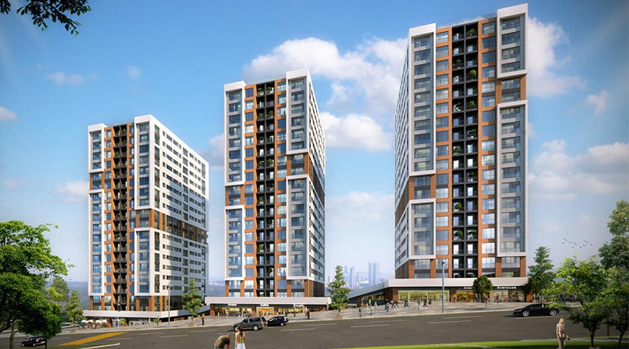 Damas Project D-120 in Istanbul - Exterior picture 01