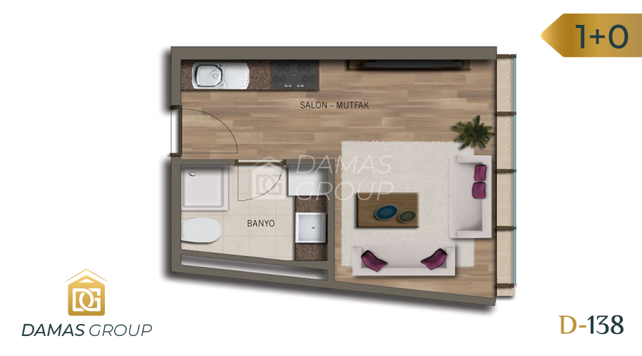 Damas Project D-138 in Istanbul - Floor Plan 01