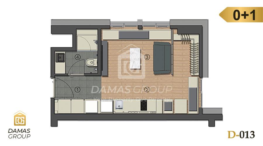 Damas Project D-013 in Istanbul - Floor Plan 01