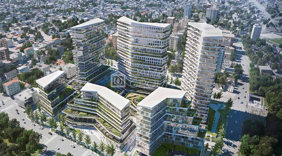 مجمع داماس 104 في اسطنبول  - صورة خارجية  01