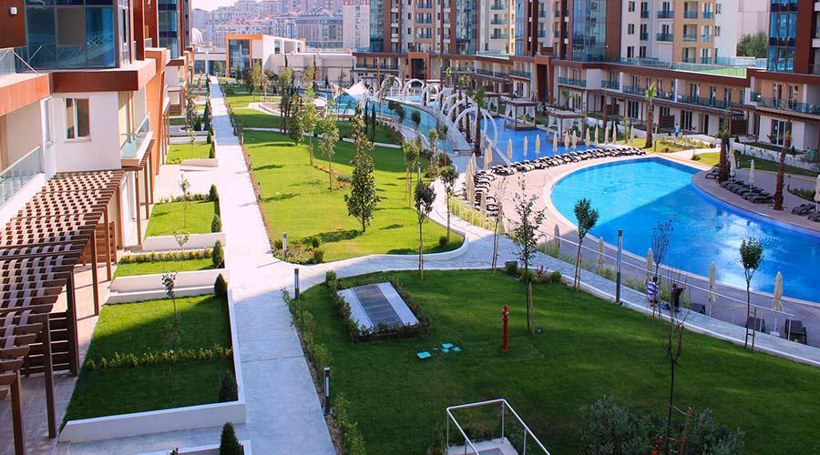 مجمع داماس 118 في اسطنبول  - صورة خارجية  01