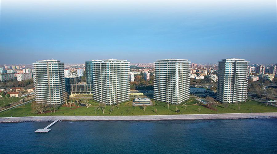 مجمع داماس 296 في اسطنبول  - صورة خارجية  01