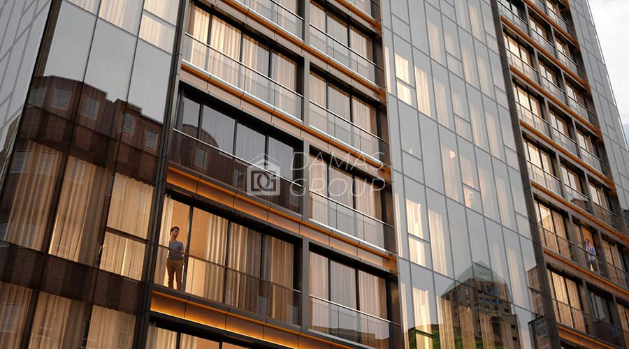 مجمع داماس 075 في اسطنبول  - صورة خارجية  02