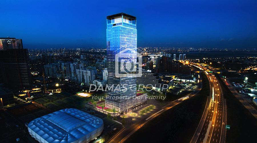 مجمع داماس 213 في اسطنبول  - صورة خارجية  02