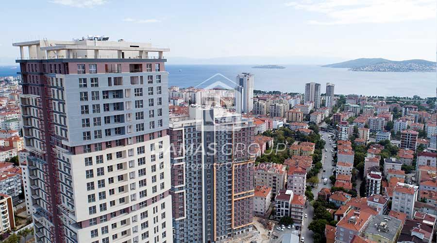 مجمع داماس 288 في اسطنبول  - صورة خارجية  02