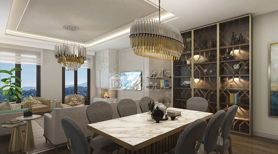 Damas Project D-057 in Istanbul - INterior picture  02