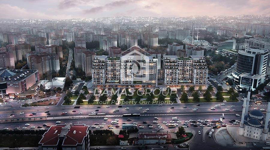 مجمع داماس 256 في اسطنبول  - صورة خارجية  02