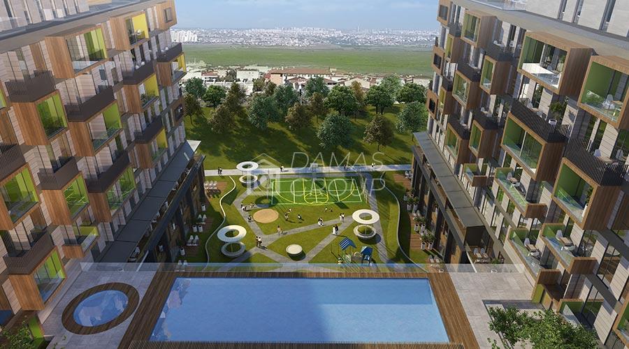 مجمع داماس 093 في اسطنبول  - صورة خارجية  02