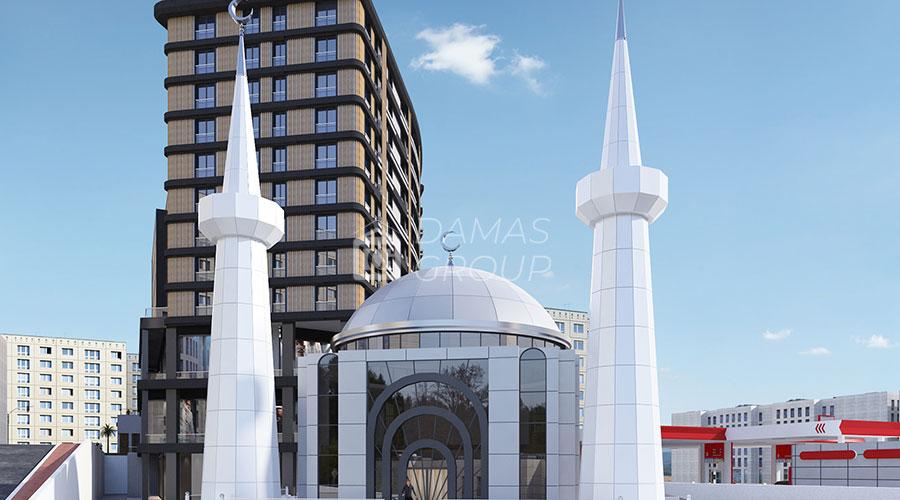 مجمع داماس 095 في اسطنبول  - صورة خارجية  02