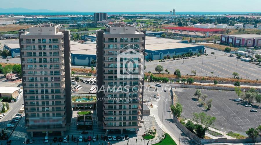 مجمع داماس 284 في اسطنبول  - صورة خارجية  02