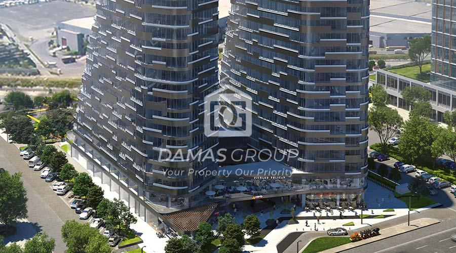 مجمع داماس 223 في اسطنبول  - صورة خارجية  02