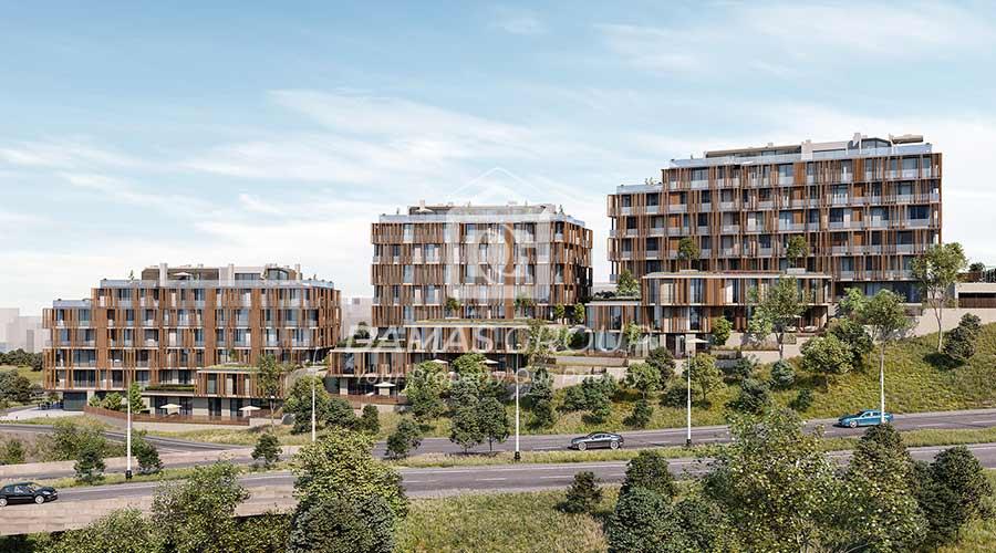 مجمع داماس 248 في اسطنبول  - صورة خارجية  02