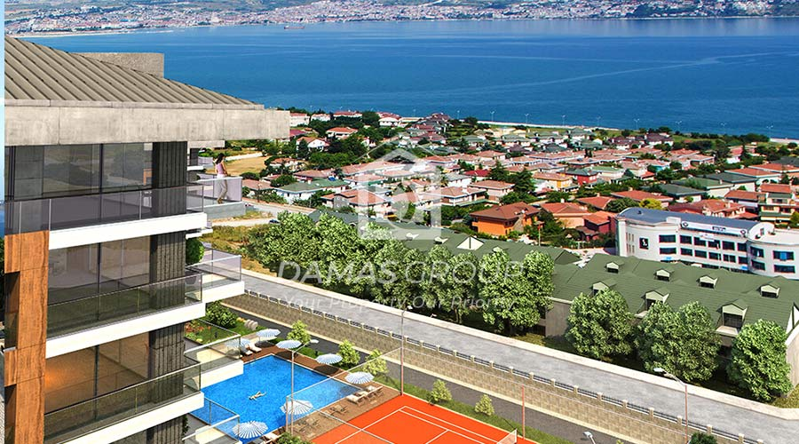 مجمع داماس 235 في اسطنبول  - صورة خارجية  02