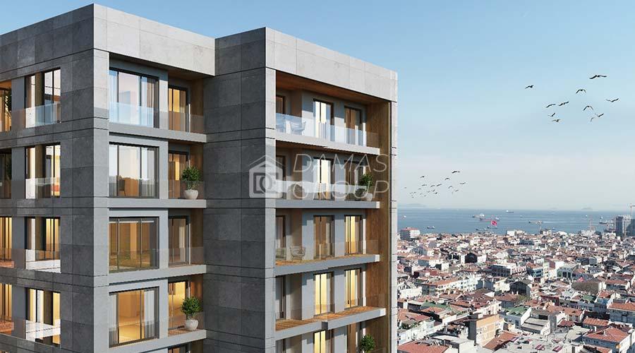 مجمع داماس 077 في اسطنبول  - صورة خارجية  02