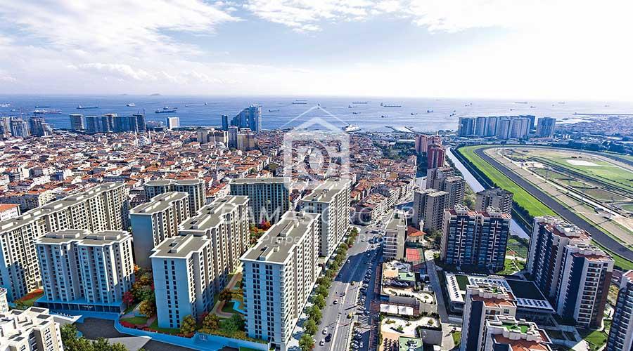 مجمع داماس 282 في اسطنبول  - صورة خارجية  02