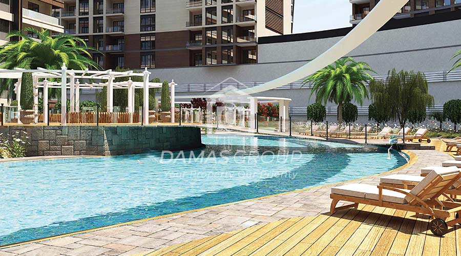 مجمع داماس 229 في اسطنبول  - صورة خارجية  03