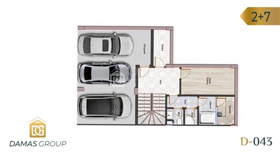Damas Project D-043 in Istanbul - floor plan 03