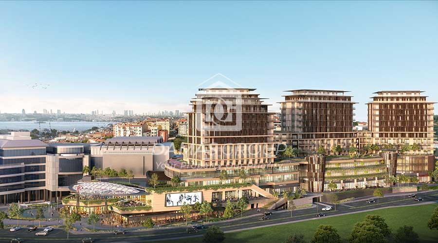 مجمع داماس 281 في اسطنبول  - صورة خارجية  03