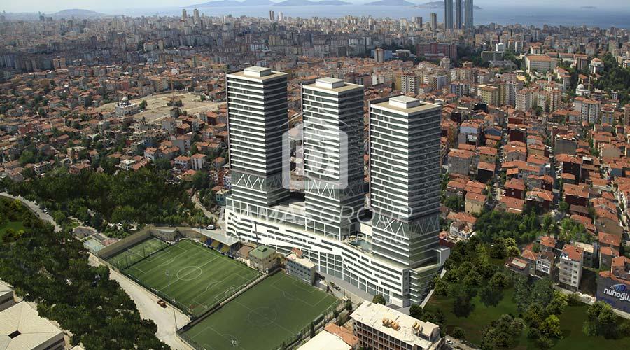مجمع داماس 224 في اسطنبول  - صورة خارجية  04