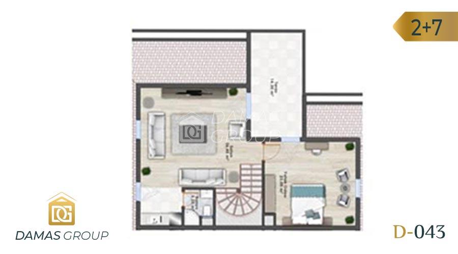 Damas Project D-043 in Istanbul - floor plan 04