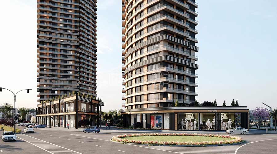 مجمع داماس 030 في اسطنبول  - صورة خارجية  04