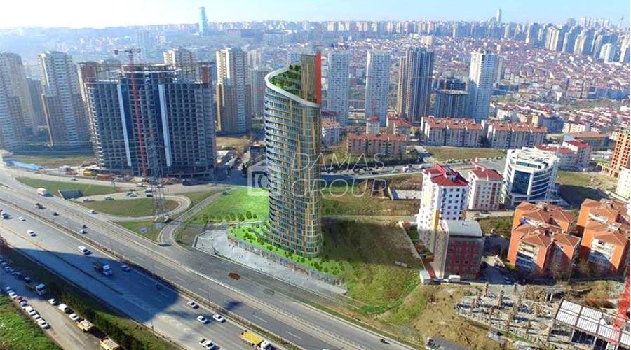 مجمع داماس 124 في اسطنبول  - صورة خارجية  04
