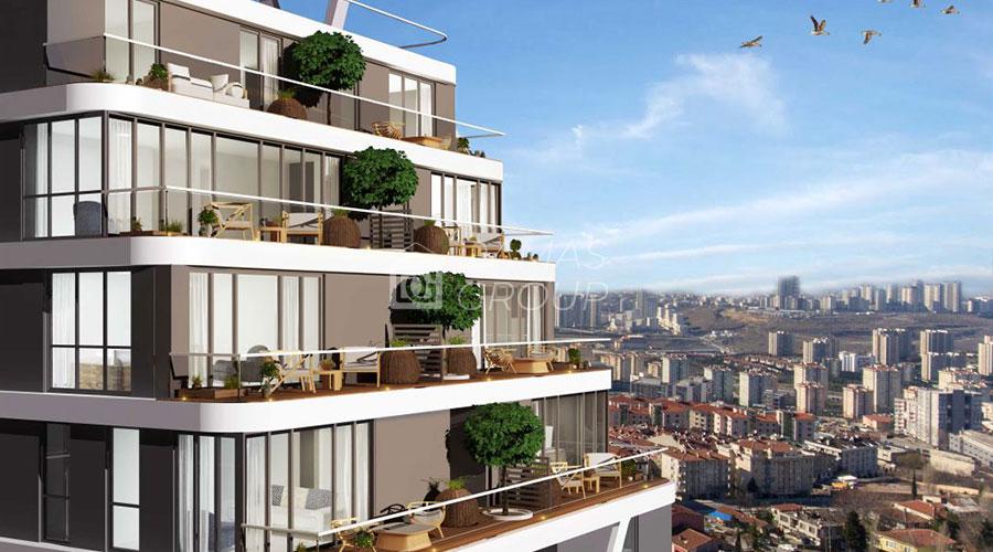مجمع داماس 102 في اسطنبول  - صورة خارجية  04