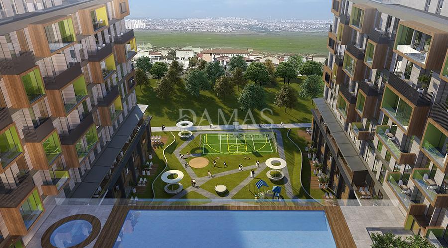 مجمع داماس 093 في اسطنبول  - صورة خارجية 04