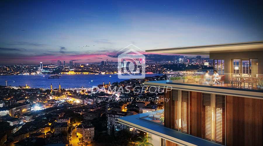 مجمع داماس 281 في اسطنبول  - صورة خارجية  04