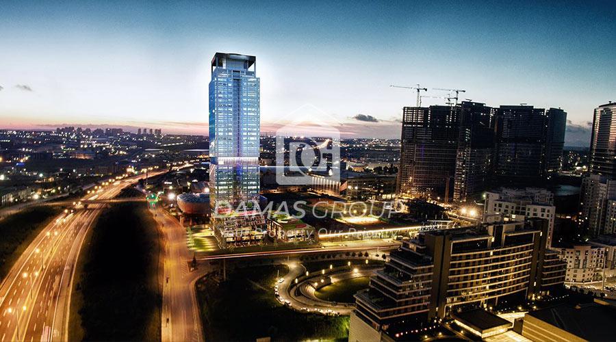 مجمع داماس 213 في اسطنبول  - صورة خارجية  05
