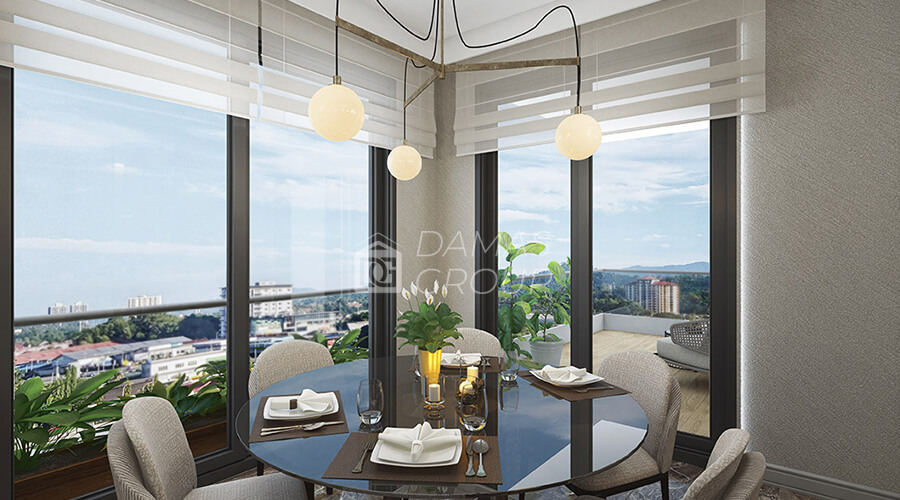 Damas Project D-057 in Istanbul - INterior picture  05