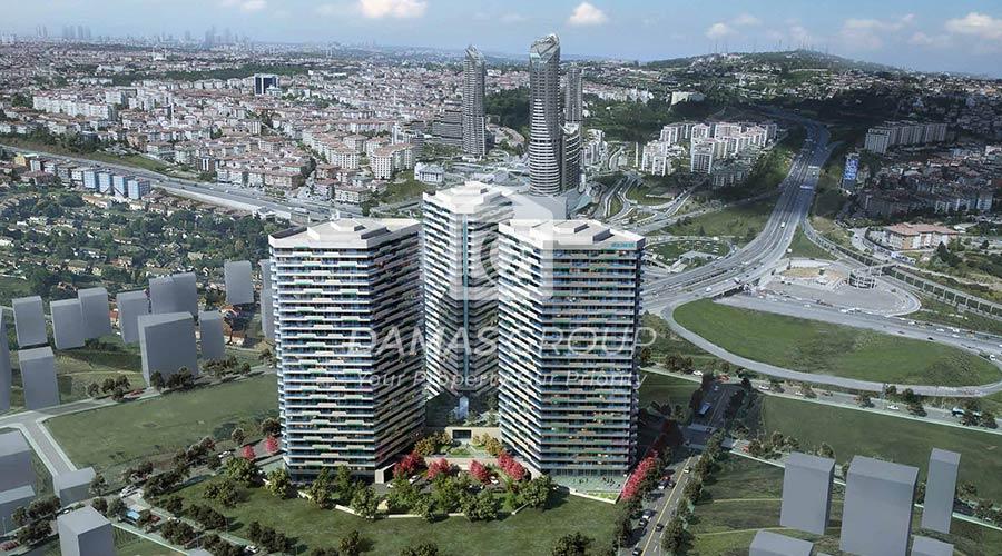 مجمع داماس 271 في اسطنبول  - صورة خارجية  05