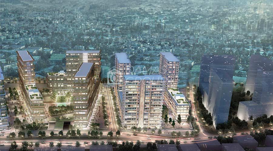 مجمع داماس 142 في اسطنبول  - صورة خارجية  05