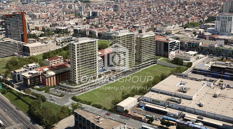 مجمع داماس 196 في اسطنبول  - صورة خارجية  06